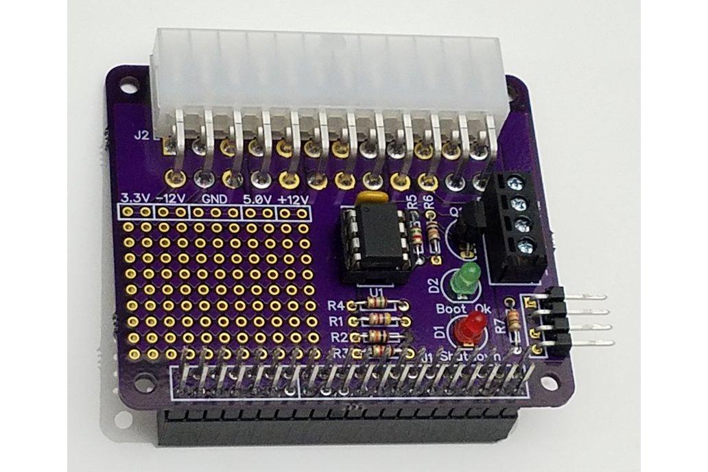 Mini ATX PSU - Desktop ATX Power for Raspberry Pi 1