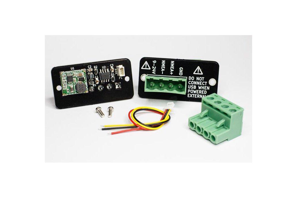 NMEA 0183 / RS-422 Adapter for dAISy 1