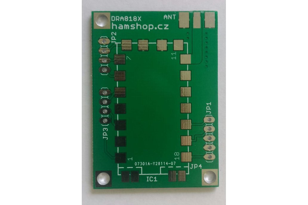 Breakout Board  DORJI DRA818V/DRA818U Modules 1