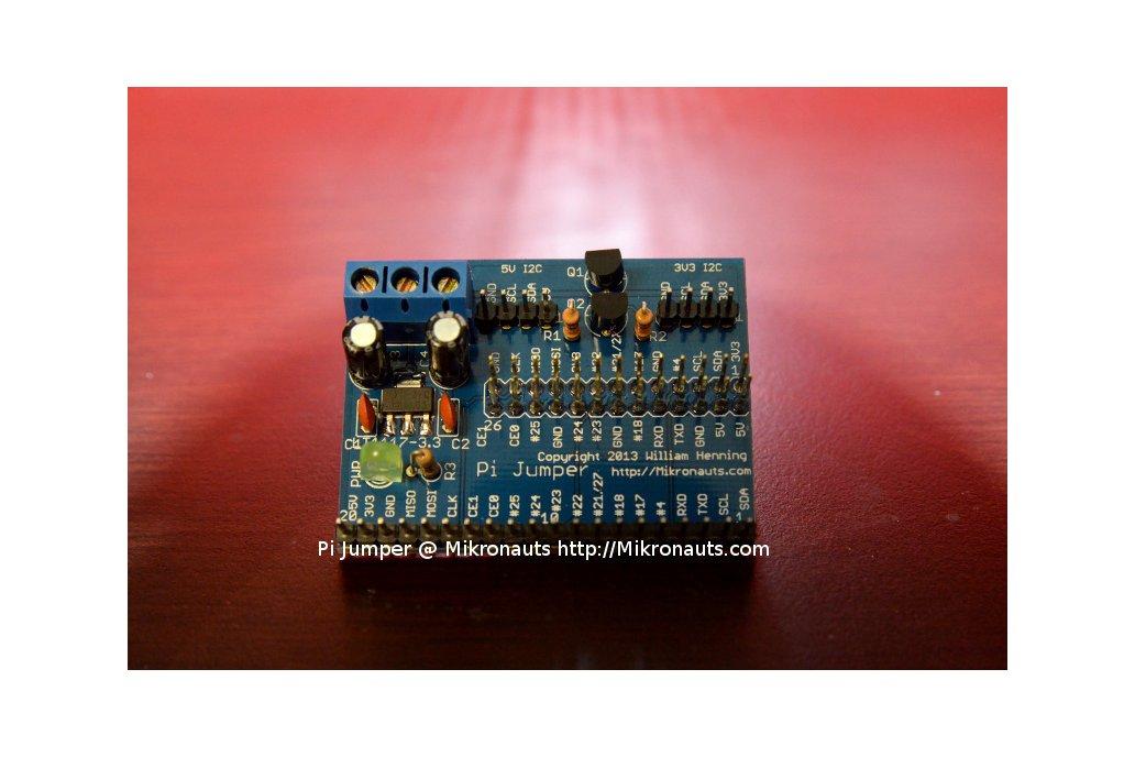 Pi Jumper for Raspberry Pi 1