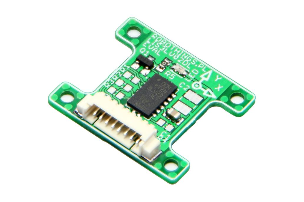 3Axis MEMS Accelerometer EVAL BOARD - LIS3LV02DL 1