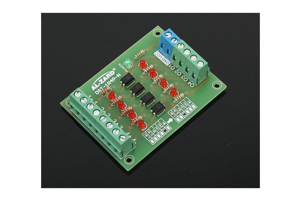 4Bit 24V to 5V Optocoupler Isolator(8042) 1