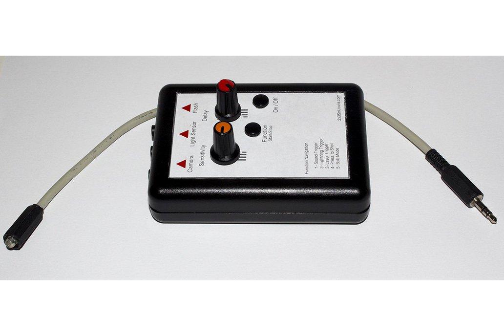 Sound, Laser, Lightning Trigger for DSLR Cameras 1