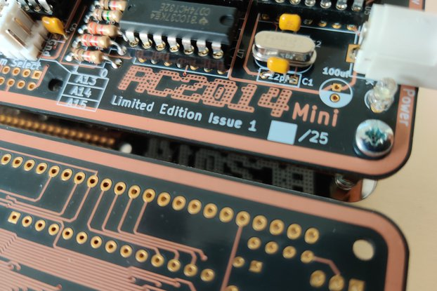 Limited Edition RC2014 Mini After Dark