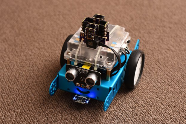 LiDAR Hat for mBot/Lego EV3
