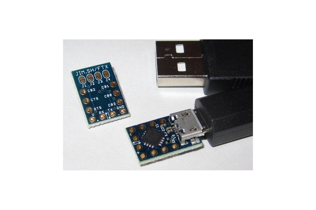 MicroFTX USB-Serial Breakout 2