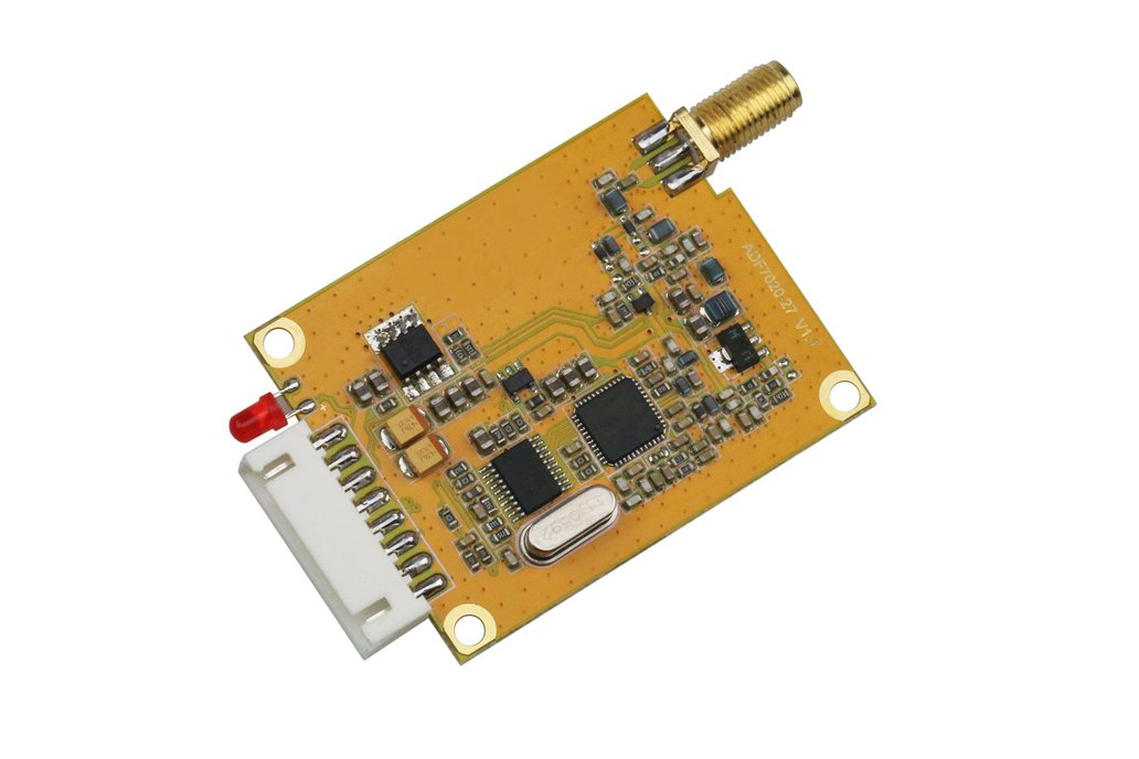 433Mhz 500mw RS232  TTL DRF7020D27-043A1 1