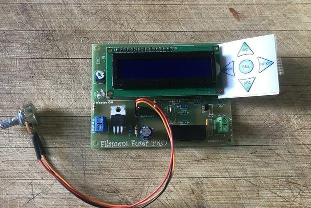 Filament Fuser Joiner Controller Ver: 3.1 Full kit