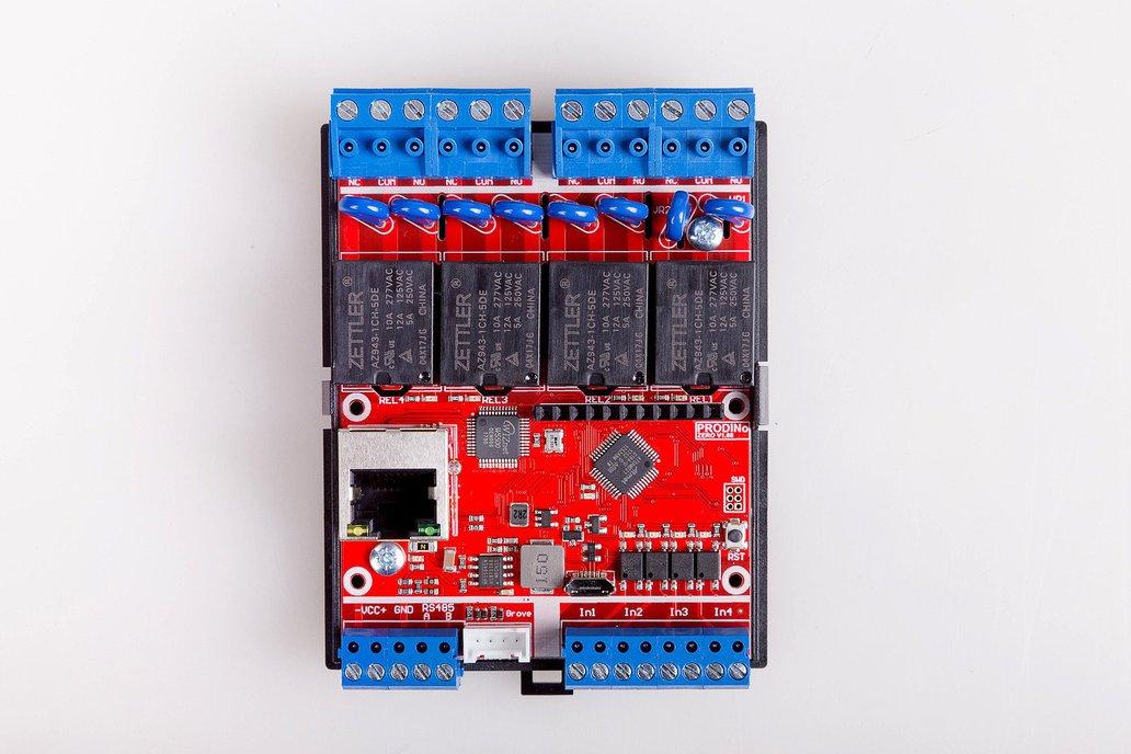 Prodino mkr zero ethernet v from kmp electronics ltd on
