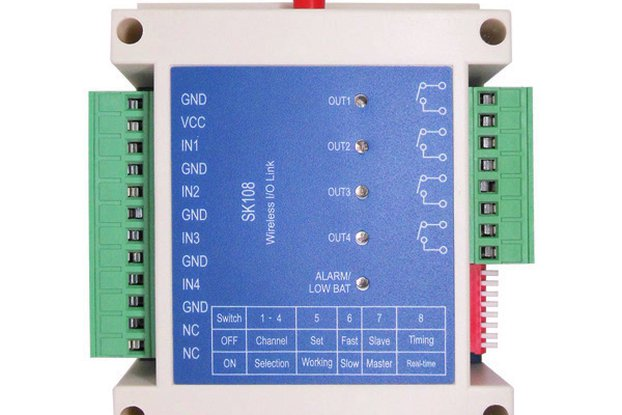 Four channel wireless switch controller SK108