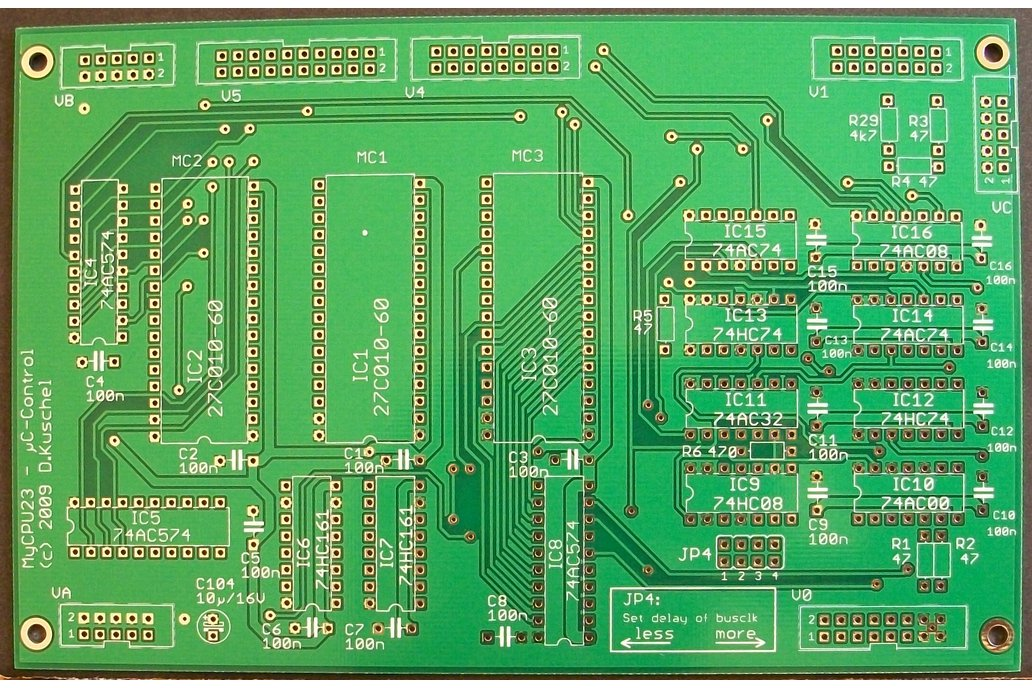 MyCPU - Set of Blank Printed Circuit Boards 3