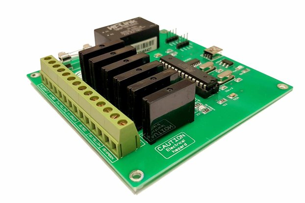6 Channel Traffic Light Controller