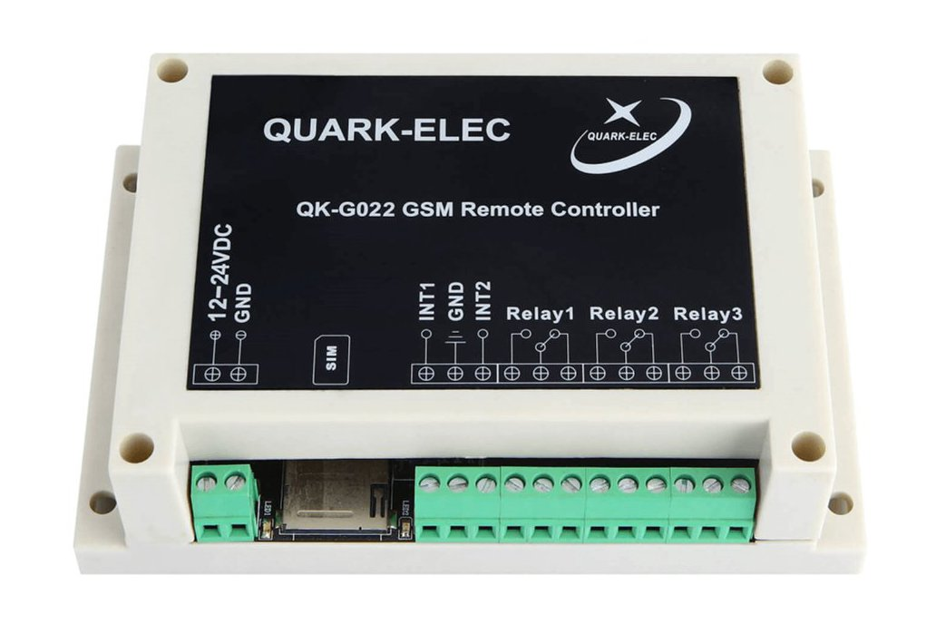 QK-G022G GSM SMS Remote control with GPS receiver 4