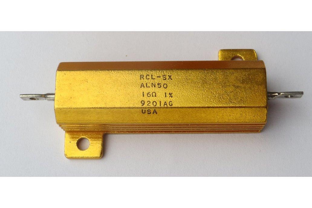 Precision 50W Resistor/Shunt 1% [16Ω or 1.6Ω] 3