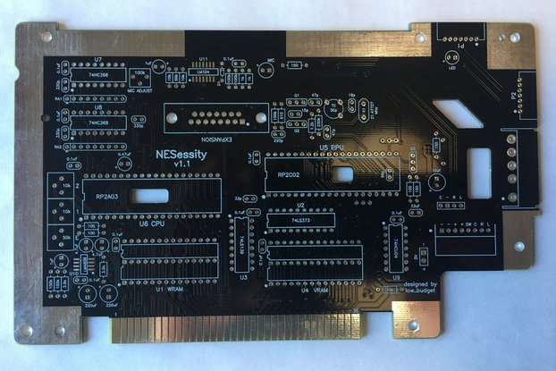 NESessity v1.1 Replacement PCB for NES Console