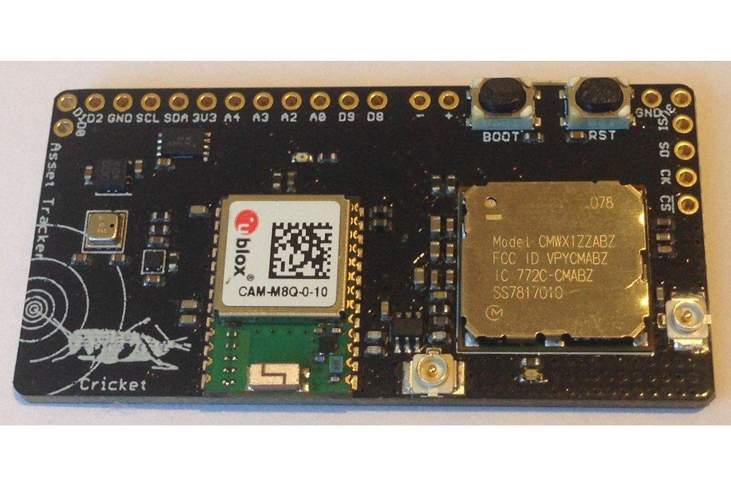 Cricket LoRa/LoRaWAN/GNSS Asset Tracker 1