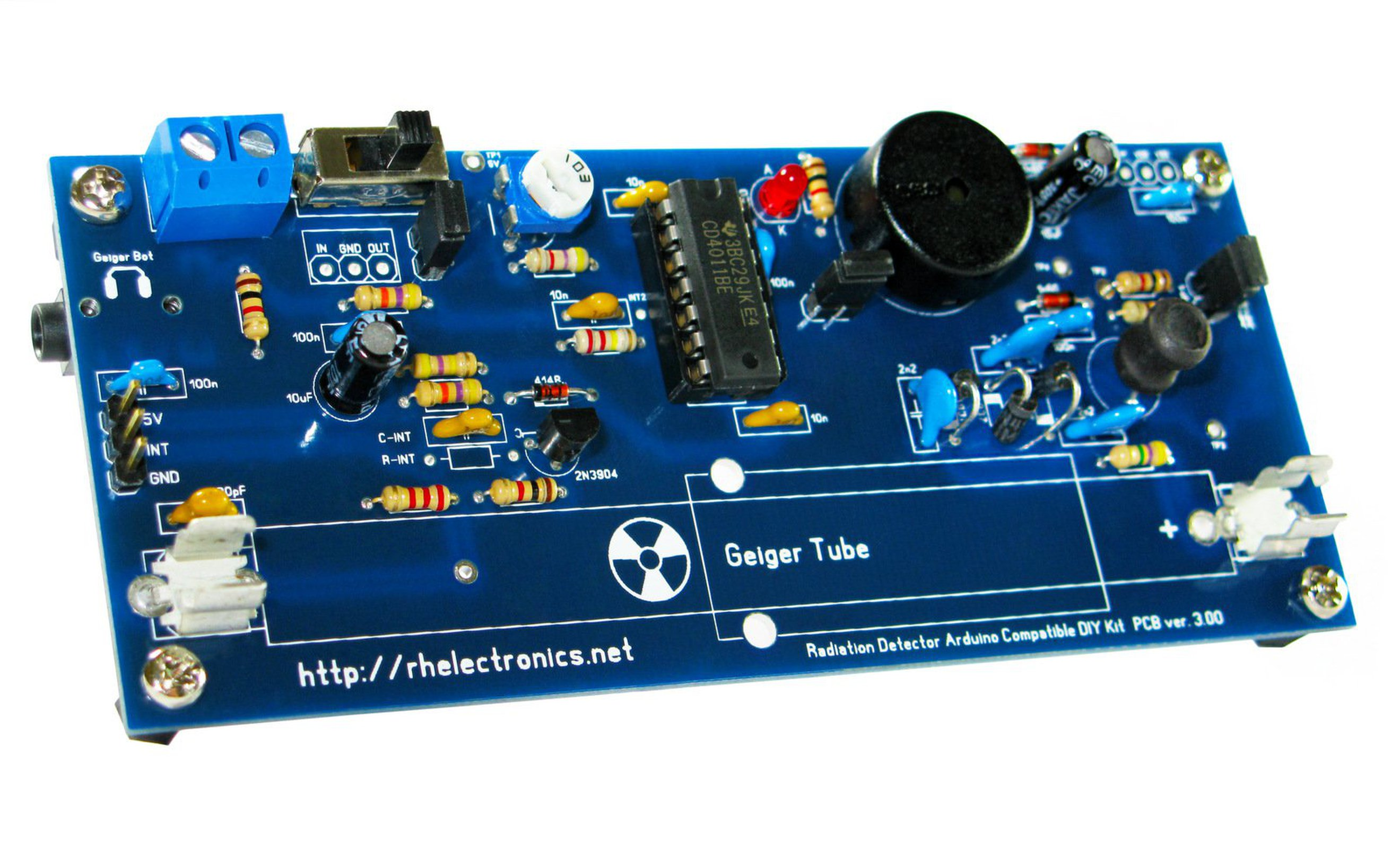 Geiger Counter Radiation Detector Diy Kit From Rh Electronics On Tindie Schematic 2
