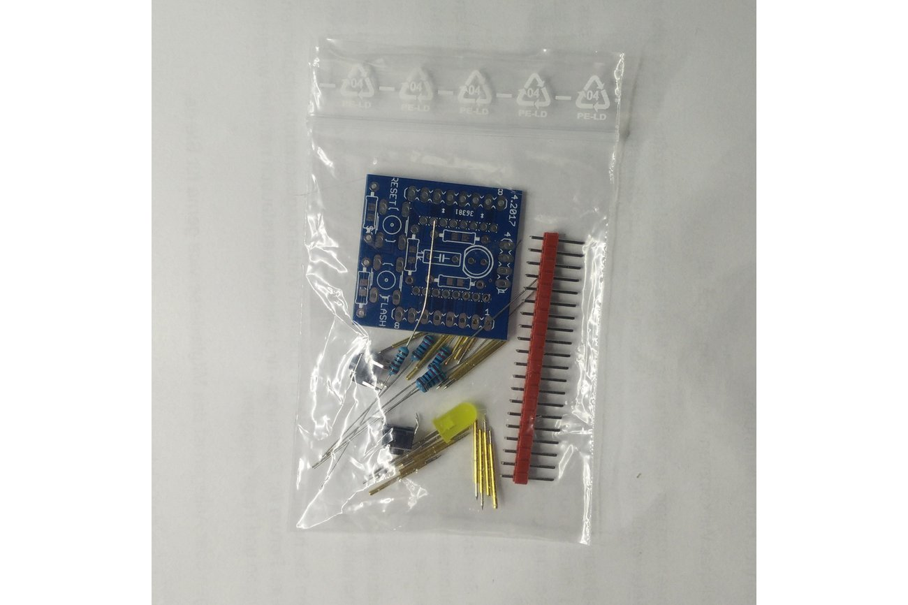 ESP12 programmer board with pogo pins