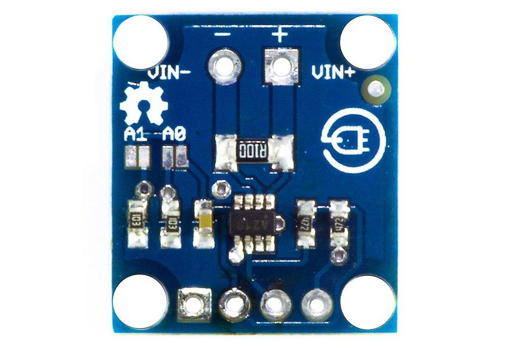 INA219, digital ammeter + voltmeter 1