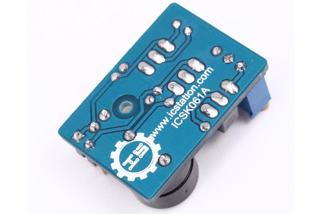 Temperature Control Sound Light Alarm DIY(5425) 4