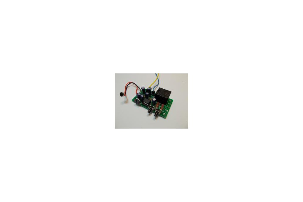 Sound Controlled Relay Kit - 12v (#2304) 1