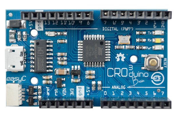 Croduino Basic3 - 100% Arduino compatible board