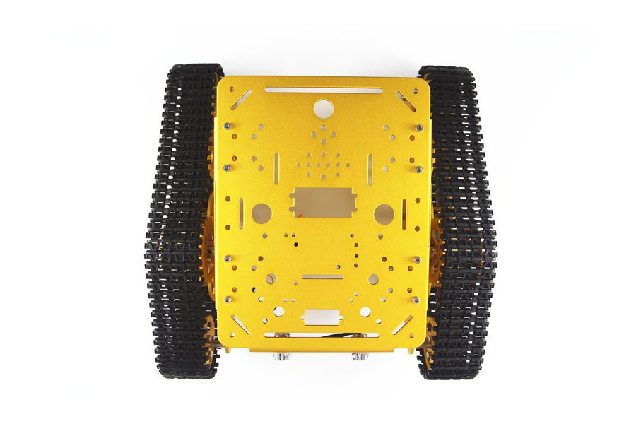 T300 Aluminum Alloy Metal Tracked Tank chassis