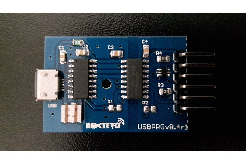 USBPRGv8.4 Isolated USB-Serial Programmer Adapter 3