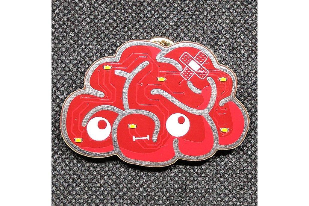 Brainy - The Brain badge 1