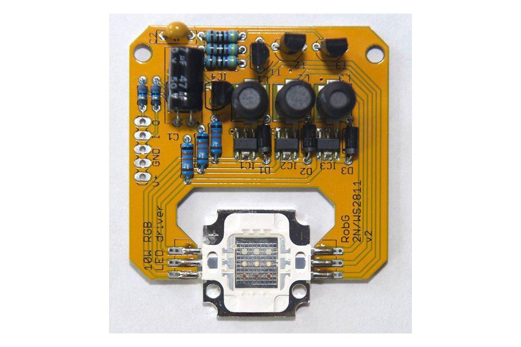 PixelFlood 10W RGB flood light kit (WS2811 pixel) 1