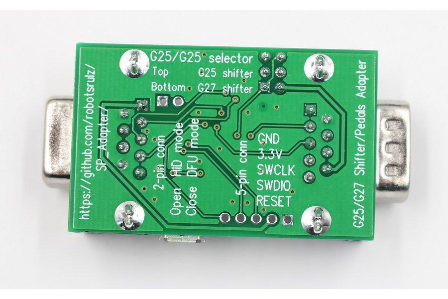 Logitech G25/G27 shifter/pedals USB adapter