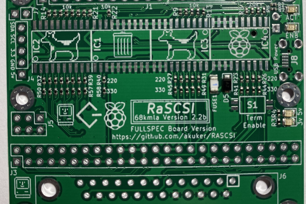 RaSCSI - Macintosh version