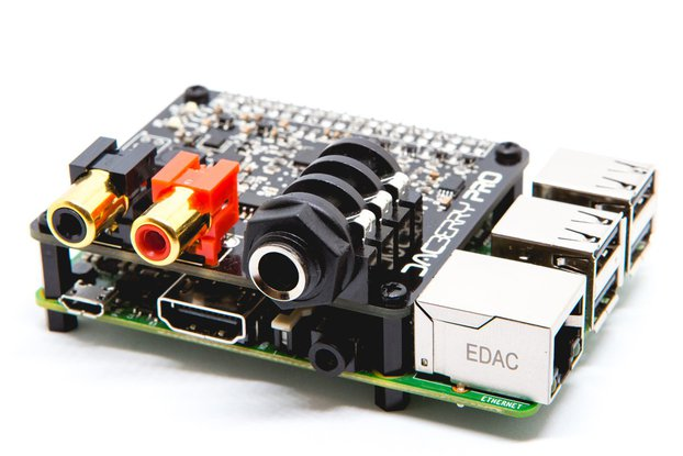 DACBerry PRO for Raspberry Pi Sound Card