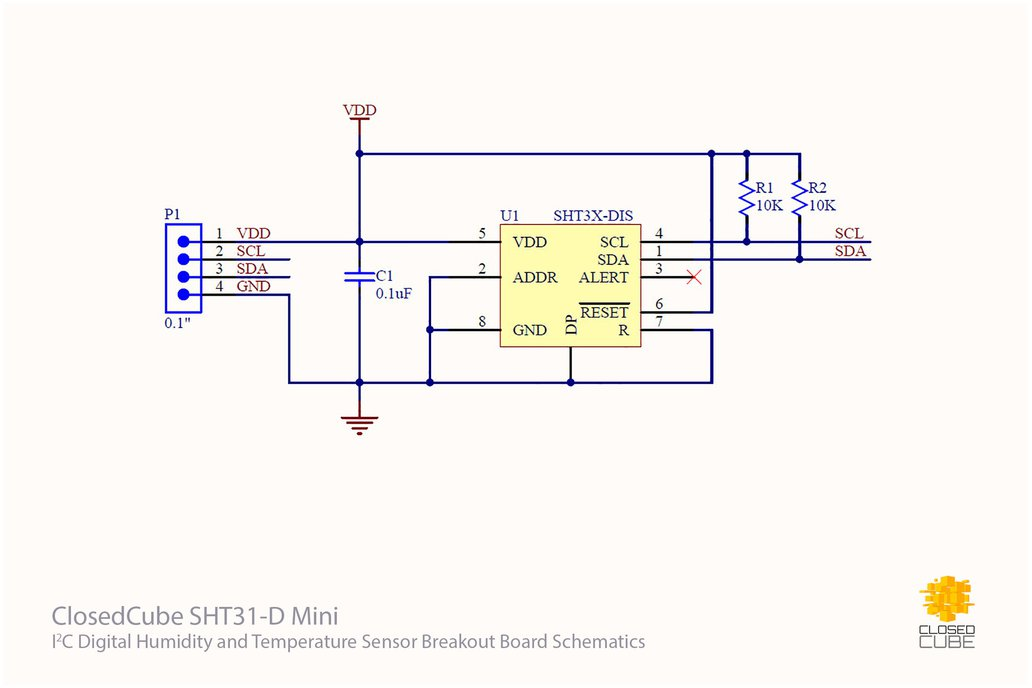 4x SHT31-D with Filter Cap and I2C Switch Bundle 5