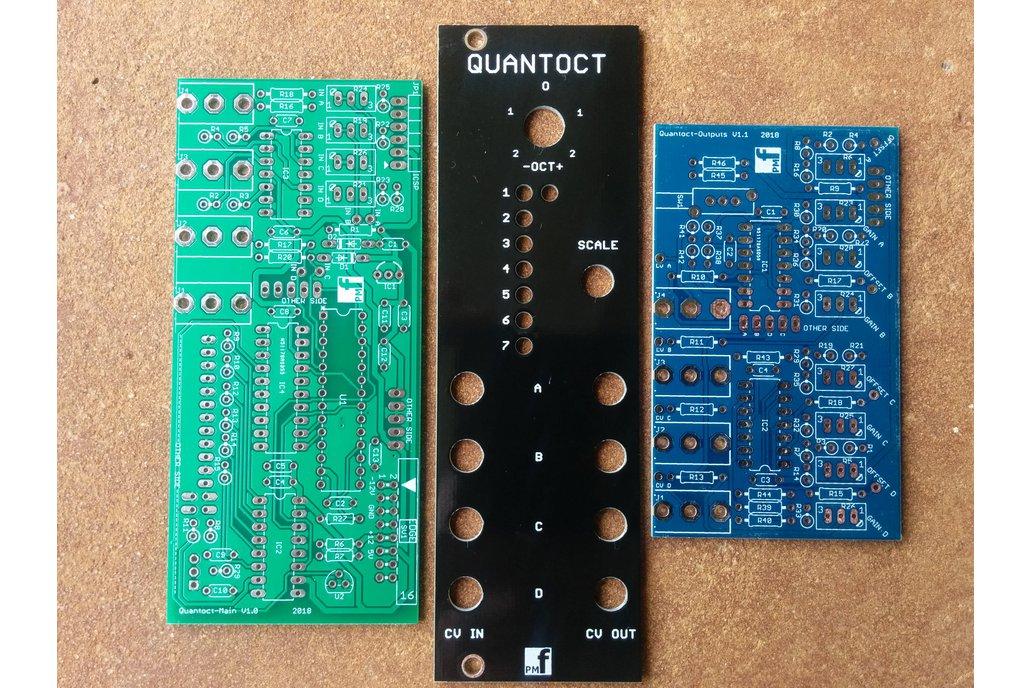 Quantoct - 4 channel quantizer (Eurorack PCB Set) 1