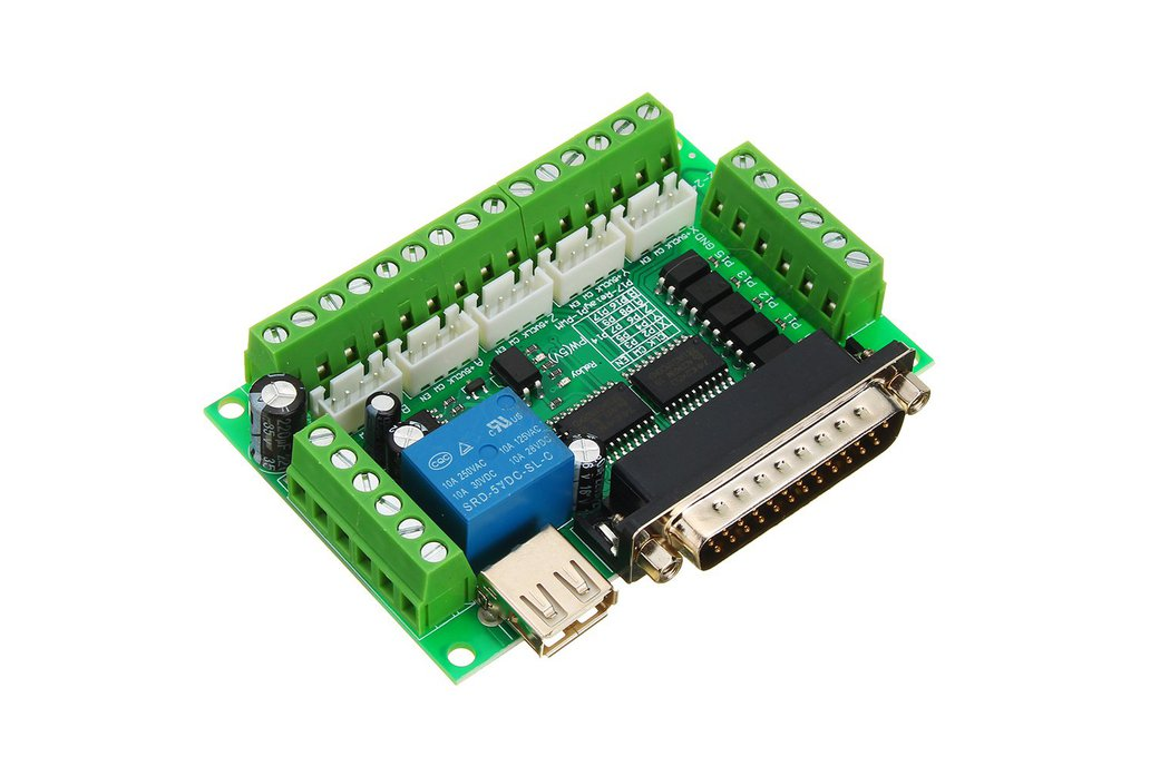 5 Axis CNC Interface Board For Stepper Motor 1