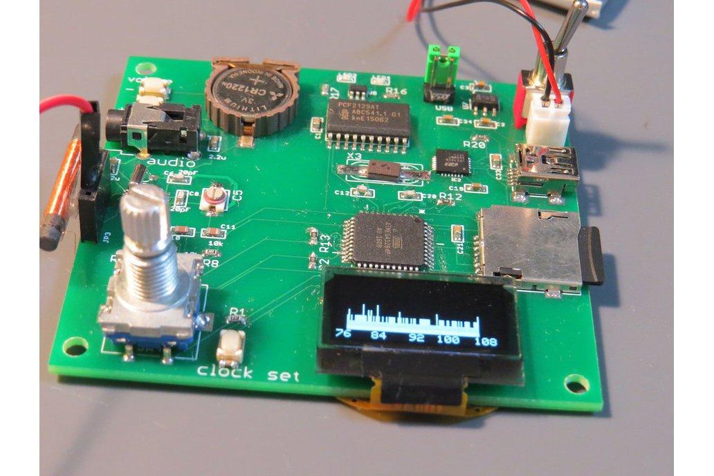 dsp radio chip based lw mw sw fm receiver from. Black Bedroom Furniture Sets. Home Design Ideas