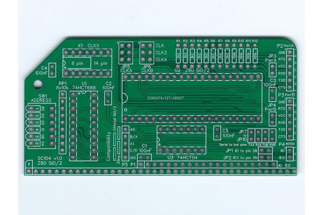 SC104 Z80 SIO/2 Board for RC2014 1