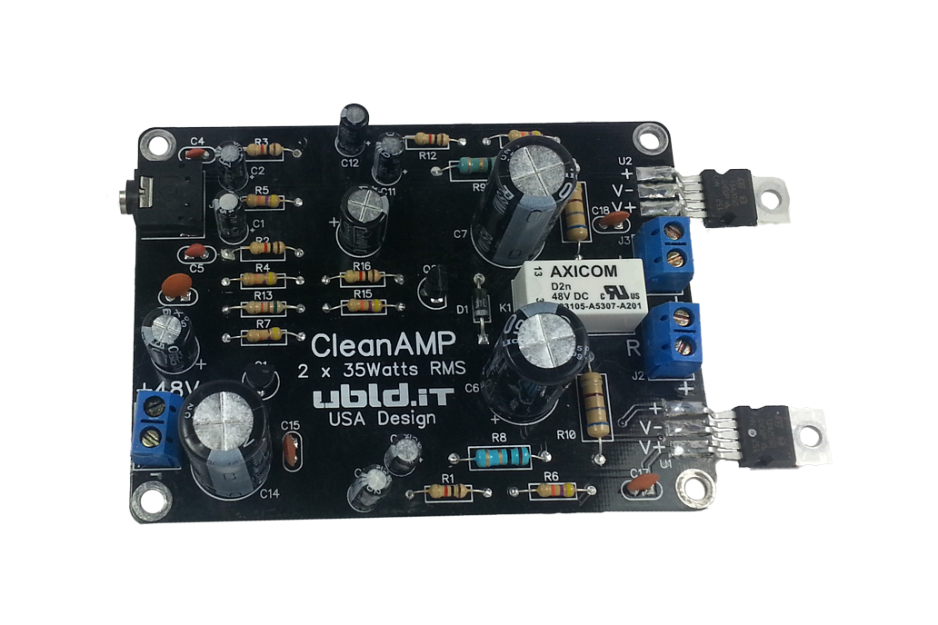CleanAMP (Stereo) Kit 1