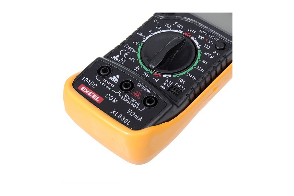 LCD Digital Voltmeter Ohmmeter Ammeter Tester 8
