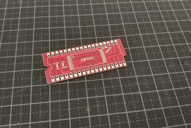 29F032 /29F016 to SNES Rom adapter