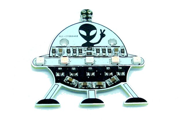 UFO Alien - LED learn to solder kit