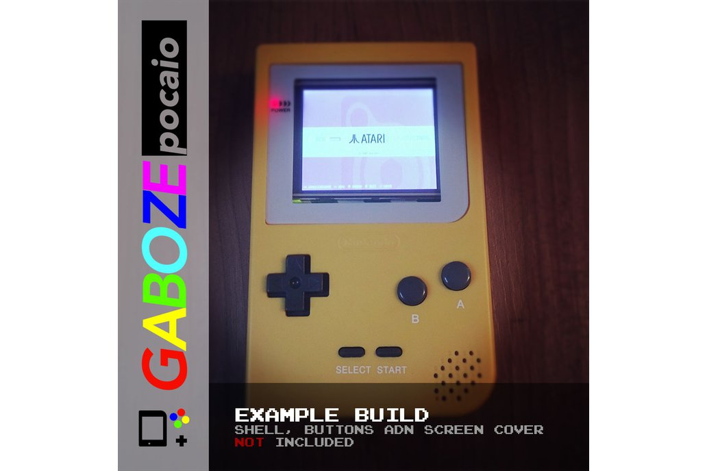Gaboze Pocaio - Game Boy Pocket All In One 12