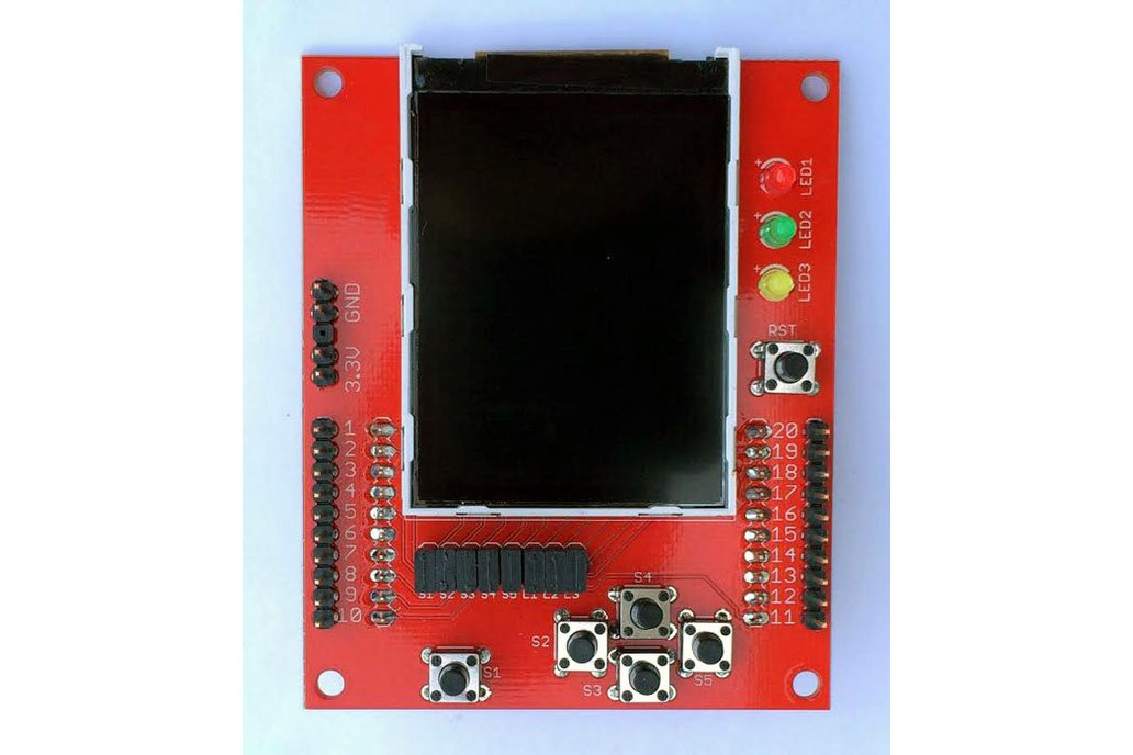 """2.2"""" Color LCD Educational BoosterPack 1"""