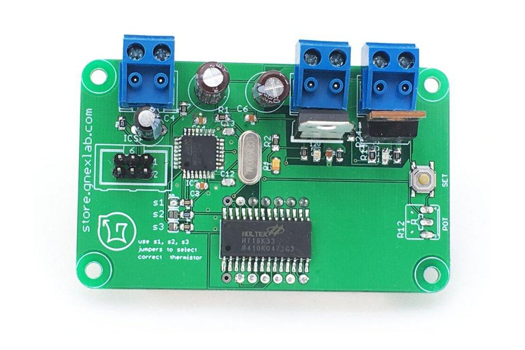 Seven-Segment Thermistor Extruder Controller 2