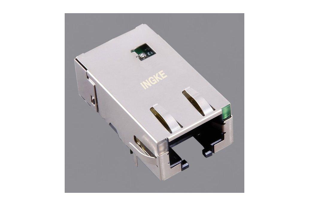 7499611421 10G Base-T RJ45 Modular Jack Connector 1