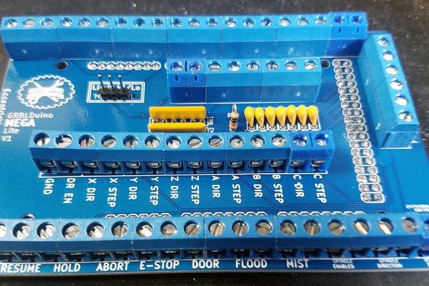 GRBLDuino Mega Lite-GRBL 1.1 Arduino CNC Shield