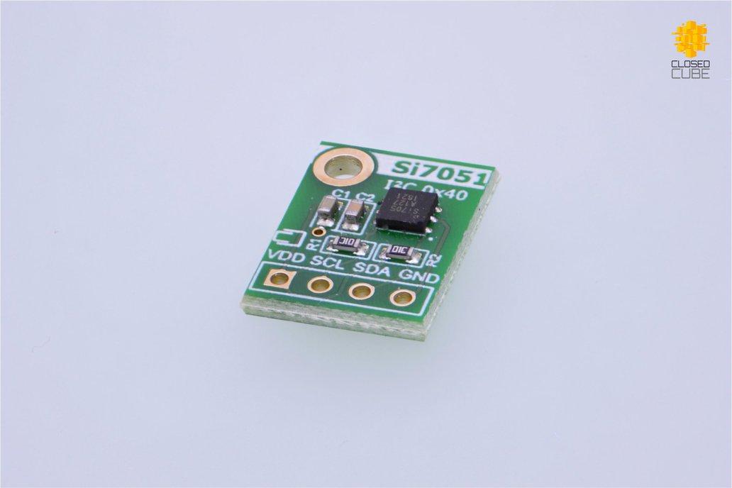 Si7051 ±0.1°C (max) Digital Temperature Sensor 1