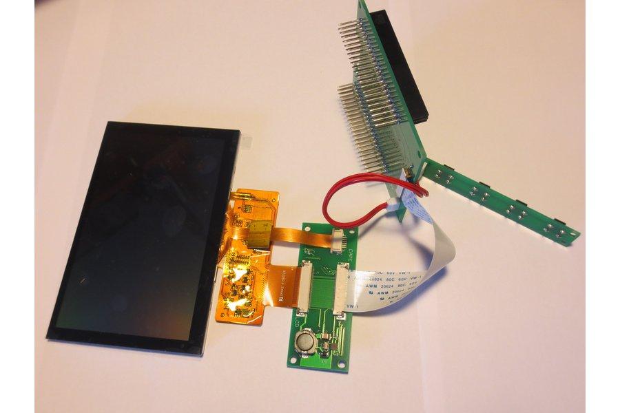 Beaglebone 5 inch LCD cape, nh5cape