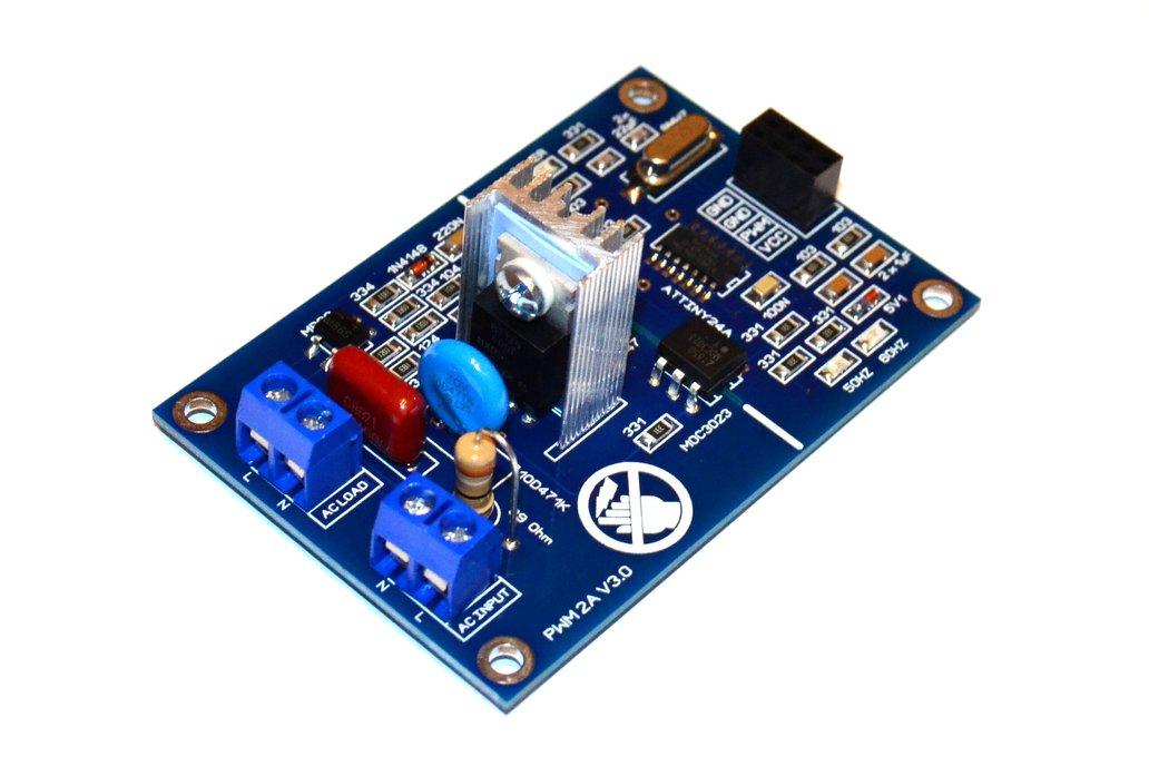 PWM 2A AC Light Dimmer Module 50Hz 60Hz 120V 240V 1
